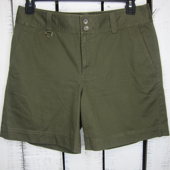Lauren Ralph Lauren Pants - Lauren by Ralph Lauren Army Green Shorts Size 8
